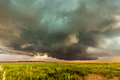 Supercell inflow with green hail glow - PhotoDune Item for Sale