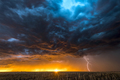 Lightning storm over field in Roswell New Mexico - PhotoDune Item for Sale