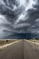 Storm over long road in Tornado Alley - PhotoDune Item for Sale