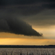 Tornadic Supercell Inflow at Sunset