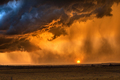 Pouring rain at sunset in Tornado Alley - PhotoDune Item for Sale