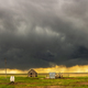Storm over field in Oklahoma - PhotoDune Item for Sale