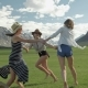 Trendy Hipster Girls Having Fun Outdoor - VideoHive Item for Sale