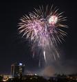 Fourth of July Celebration Fireworks over Downtown San Jose - PhotoDune Item for Sale