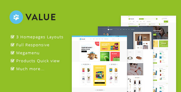 Image of Ap Value - Bigcommerce theme for Pets| Fashion| Multipurpose