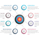 Circle Diagram with Target - GraphicRiver Item for Sale