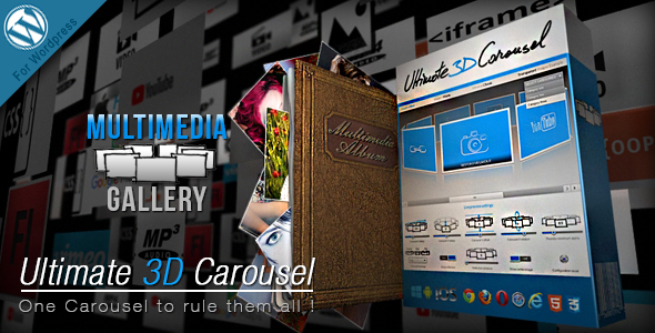 Ultimate 3D Carousel Wordpress Plugin - CodeCanyon Item for Sale