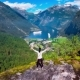 Geiranger Fjord, Norway. - VideoHive Item for Sale
