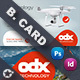 Drone Technology Business Card Templates - GraphicRiver Item for Sale