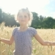 Girl in Summer Field - VideoHive Item for Sale