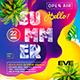 Summer Escape Party Flyer vol.11 - GraphicRiver Item for Sale