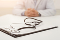 Stethoscope on the desk, selective focus, closeup - PhotoDune Item for Sale