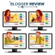 Blogger Review Concept Vector. Video Blog Channel