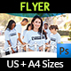 Volunteer Charity Flyer Template Vol.2 - GraphicRiver Item for Sale
