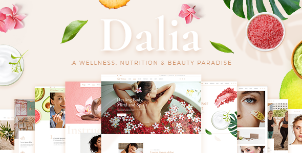 Dalia - A Modern Wellness and Lifestyle Theme - Health & Beauty Retail