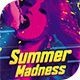 Summer Madness Flyer Template - GraphicRiver Item for Sale