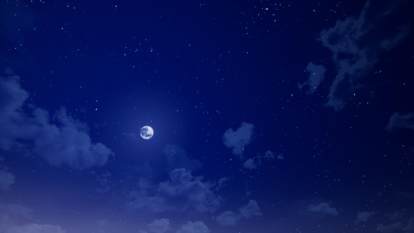 Night sky and clouds by animegrado videohive play preview video thecheapjerseys Image collections