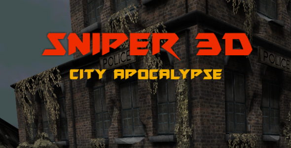 Sniper 3D: City Apocalypse (Unity3D game + Admob Ads)            Nulled