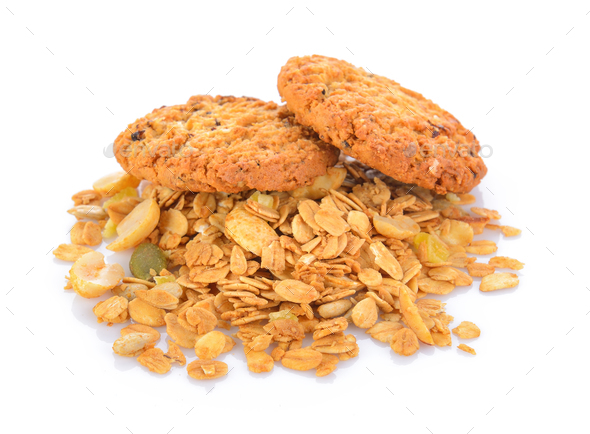 Oatmeal cookies - Stock Photo - Images