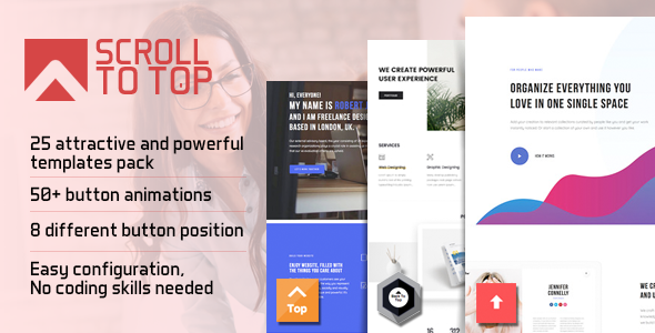 Smart Scroll to Top - Faster and Easier scroll to top plugin for Wordpress            Nulled