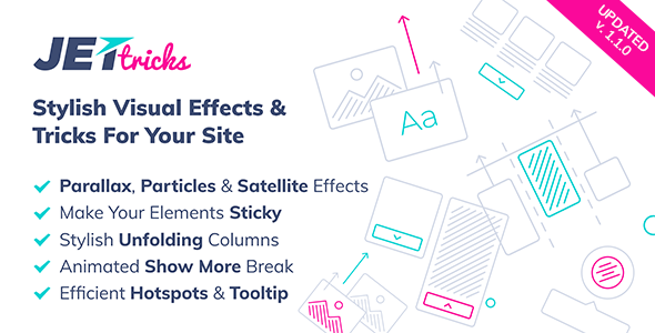 JetTricks -  Visual Effects Addon for Elementor            Nulled