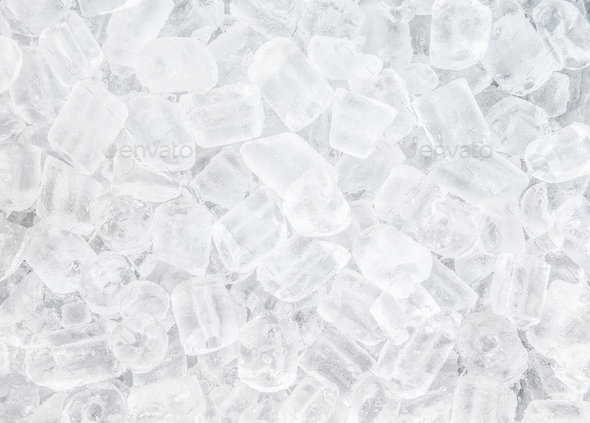 background with ice cubes - Stock Photo - Images