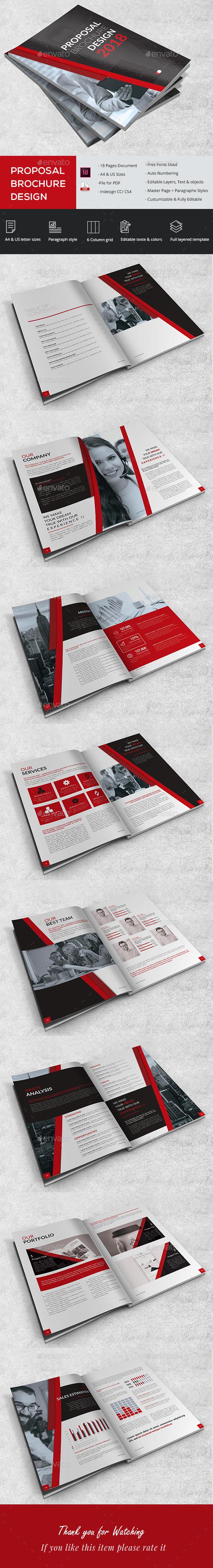 Proposal Brochure Design - Brochures Print Templates