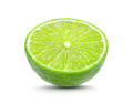 Juicy slice of lime isolated on white background - PhotoDune Item for Sale