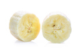 Banana slices isolated on a white background - PhotoDune Item for Sale