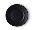 bllack ceramic plate isolated on white background - PhotoDune Item for Sale