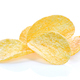 Potato chips on white background - PhotoDune Item for Sale