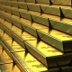 Stairs Made of Gold Bars or Bullions - VideoHive Item for Sale