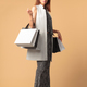 fashionable woman with shopping bags - PhotoDune Item for Sale