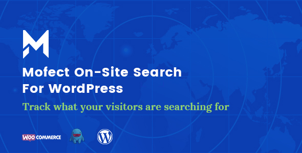 Mofect On-Site Search For WordPress (Marketing)