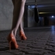 Drunk Female Legs Walking in Underpass - VideoHive Item for Sale