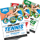 Tennis Flyer Template - GraphicRiver Item for Sale