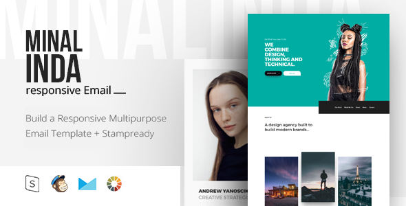 Image of Minalinda - Responsive Email + StampReady Builder