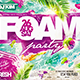 Flyer Foam Party