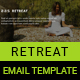 Retreat Email Template - GraphicRiver Item for Sale
