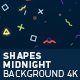 Midnight Shapes Background 4K - VideoHive Item for Sale