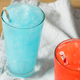 Frozen Red and Blue Slushies - PhotoDune Item for Sale