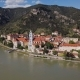 Aerial of Durnstein, Wachau Valley, Austria. - VideoHive Item for Sale
