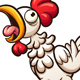 Clucking Chicken - GraphicRiver Item for Sale