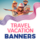 Travel - Vacation Web Banners