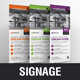 Real Estate Rollup Banner Signage Design v1 - GraphicRiver Item for Sale