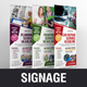 Roll up Banner Signage Design v3 - GraphicRiver Item for Sale