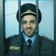 Portrait of a Policeman in a Prison Cell - VideoHive Item for Sale