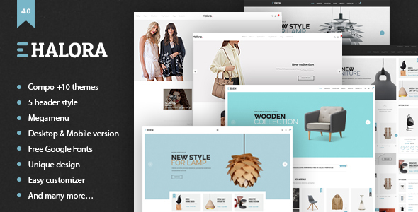 Image of Halora - Simple, Clean & Minimalist Responsive Shopify Theme