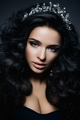 Beautiful young brunette with make-up - PhotoDune Item for Sale