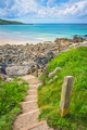 Hillside steps leading to the beach - PhotoDune Item for Sale